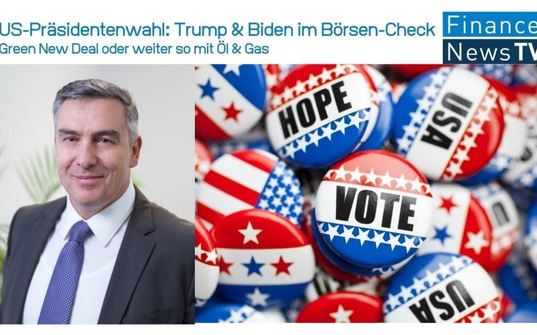 US-Präsidenten-Wahl: Green New Deal oder weiter so mit Öl & Gas // Trump und Biden im Börsen-Check
